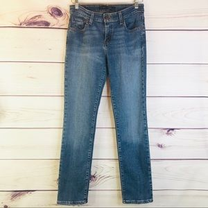 Levi's Mid Rise Skinny Medium Wash Jeans